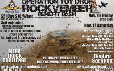 Operation Toy Drop Rockvember Benefit Bash