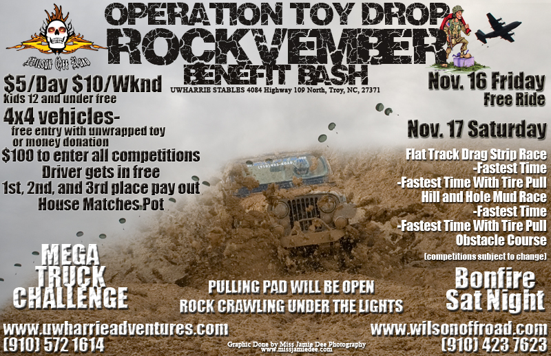 Operation Toy Drop Rockvember Benefit Bash